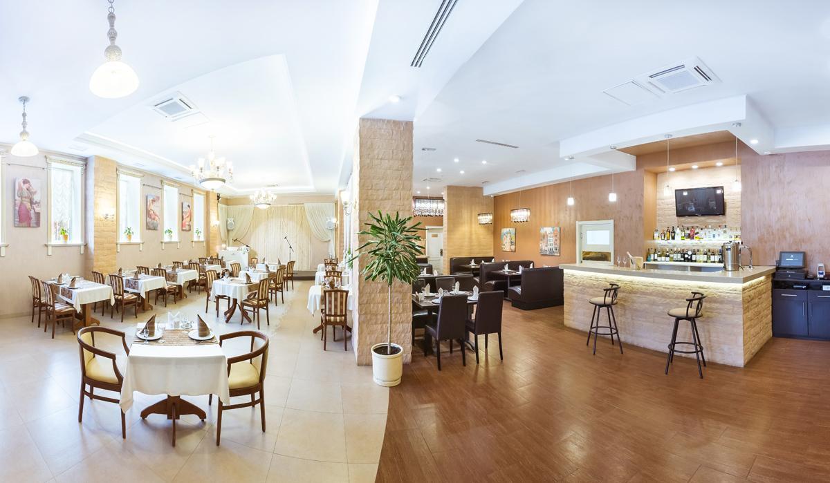 """Бизнес-отель """"Империал"""": Ресторан"""