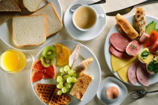 Отель «Империал Wellness & SPA»: Завтраки